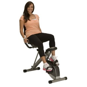 Exerpeutic 300SR Foldable Recumbent Bike Review