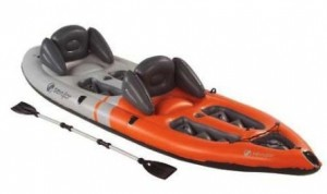 Sevylor Inflatable Sit-On-Top Kayak, 2-Person