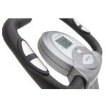 Exerpeutic Folding Magnetic Upright Bike with Pulse Computer Console