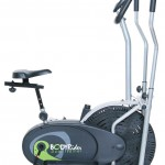 Body Rider BRD2000 Elliptical Trainer with Seat Review Side-on View