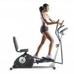 Woman using the ProForm Hybrid Trainer