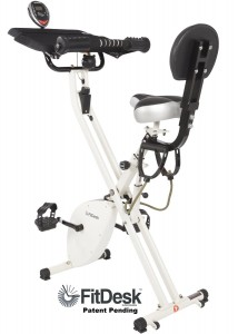 FitDesk X1 Folding Exercise Bike Review