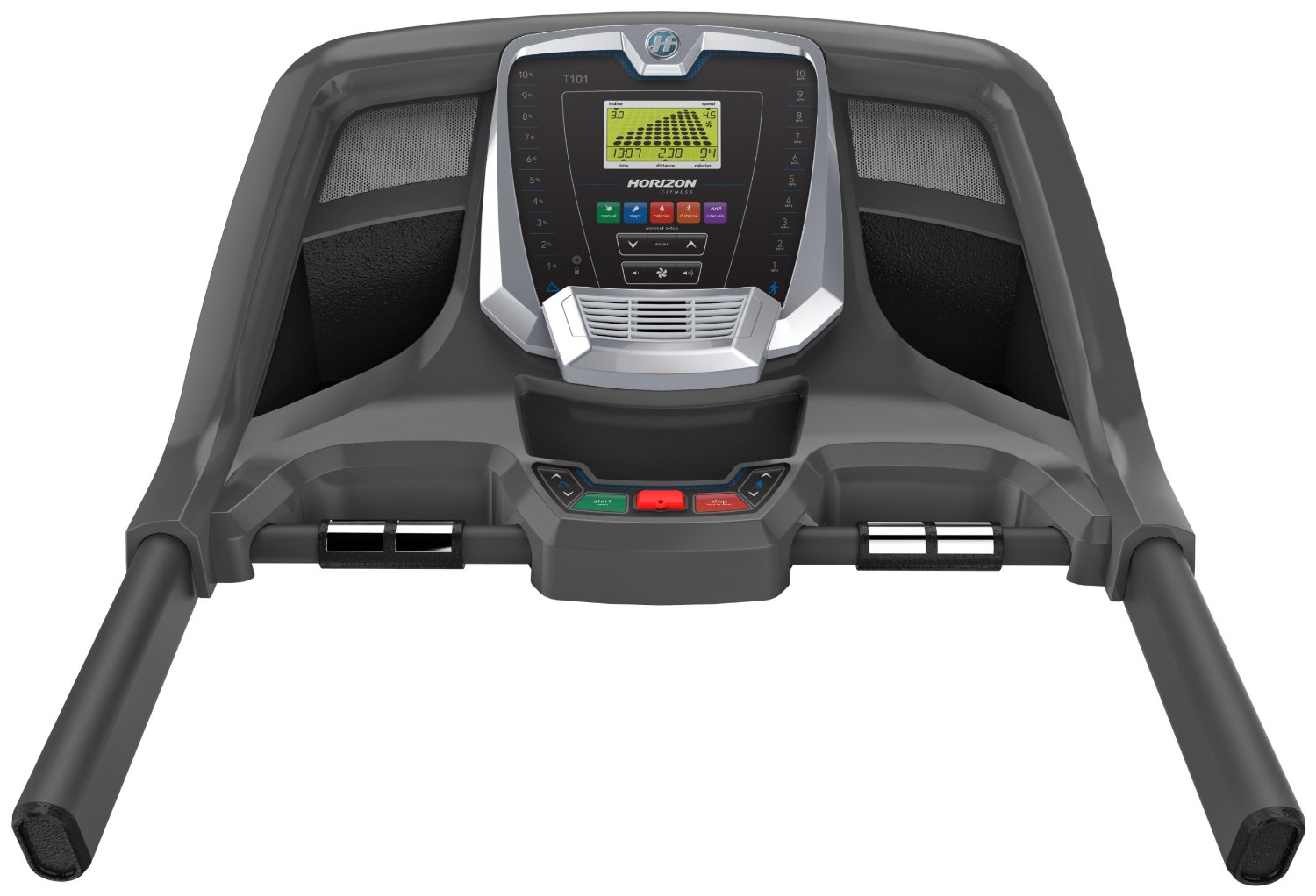 Horizon Fitness T101-04 Review, Horizon Fitness T101-04 Console