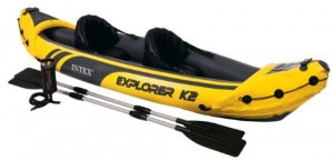 Intex Explorer K2 Kayak yellow