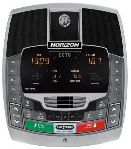 Horizon Fitness EX 79_panel