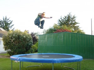 The Health Benefits of Using a Trampoline for Home Exercise