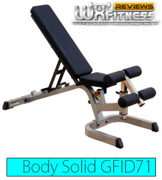 Body Solid GFID71 Heavy Duty FID Bench Review
