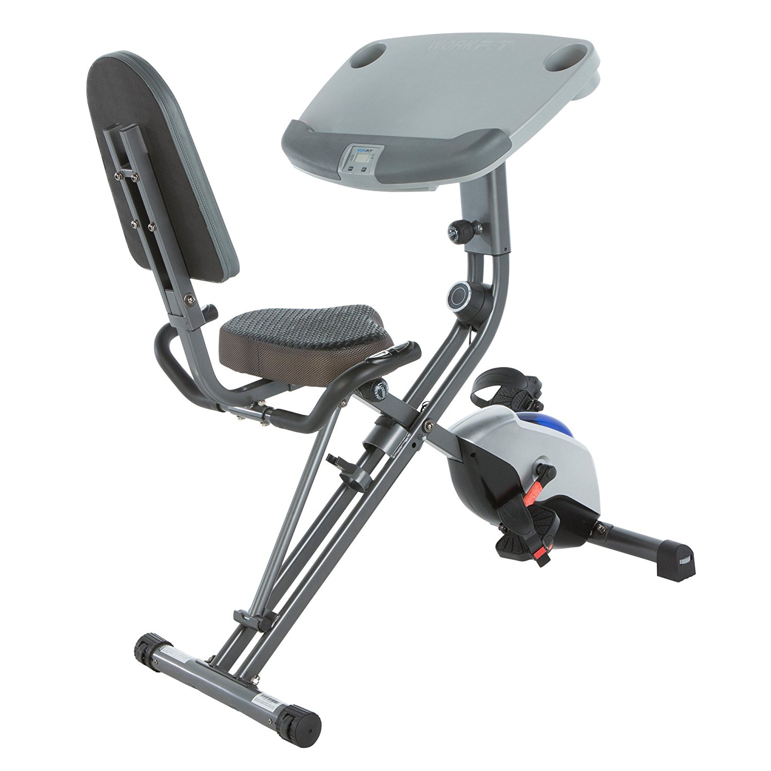 Exerpeutic WorkFit 1000 Desk Station Folding Exercise Bike Reviews
