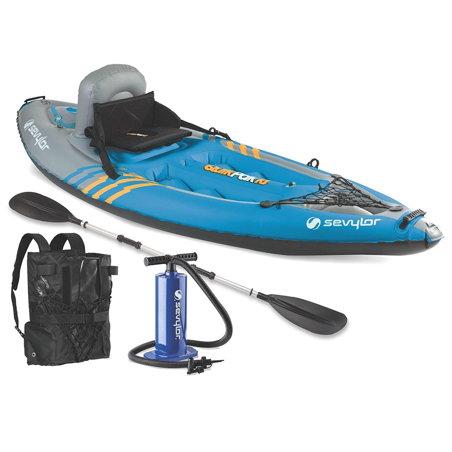 Sevylor Quikpak K1 1-Person Kayak Review