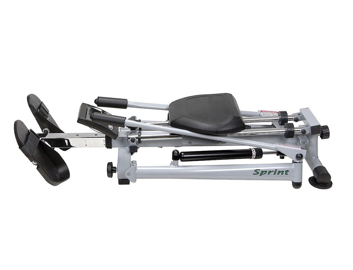 HCI Fitness Sprint Outrigger Scull Rowing Machine (Folded)
