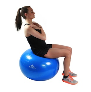 2000lb Anti Burst Exercise Stability Ball with Pump